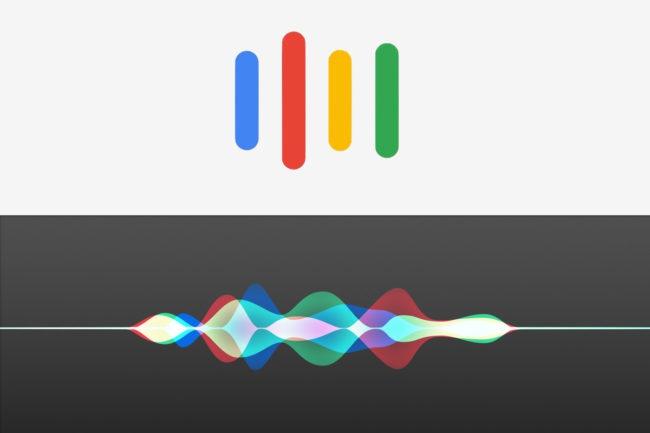 logos siri-Google asisstant