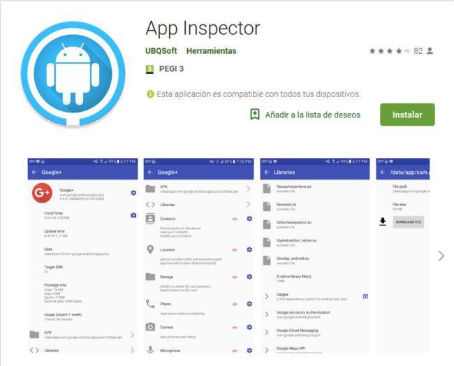 APP Inspector