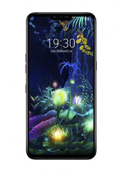 LG V50 5G frontal