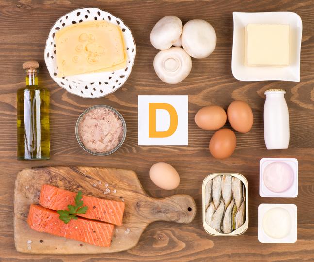 ¿Qué alimentos son ricos en vitamina D?