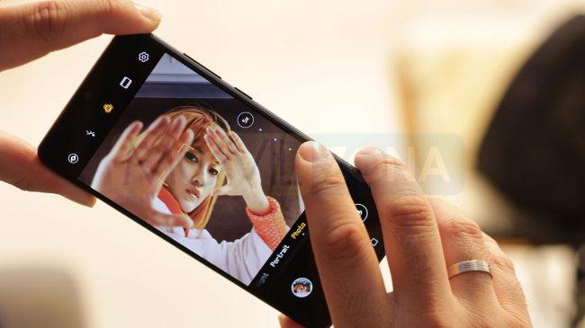 Huawei P30 manejo de cámara