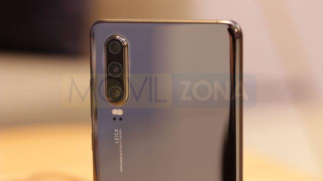 Huawei P30 cámara