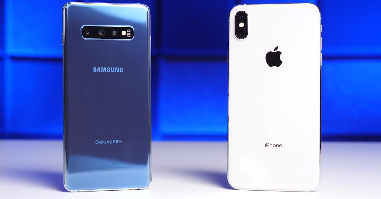 Galaxy S10+ vs iPhone XS Max