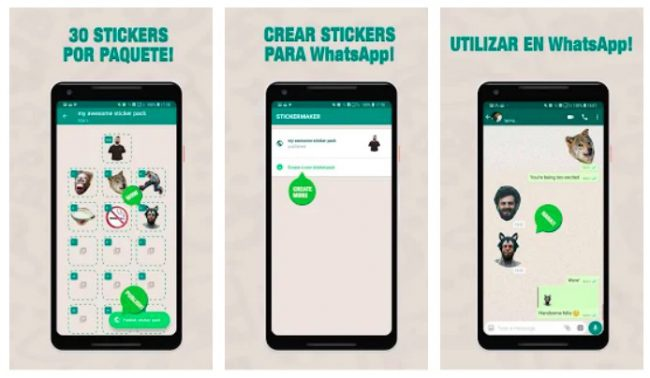 stcikers whatasapp android