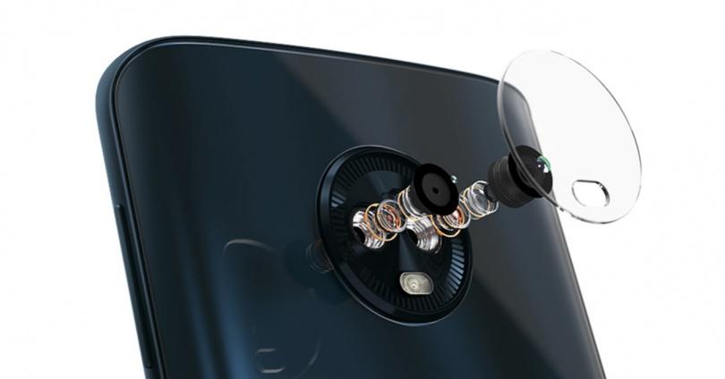 Cámara del Moto G6 Plus