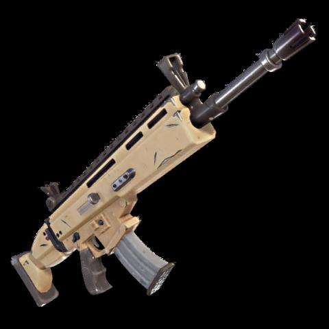 Rifle de Asalto SCAR