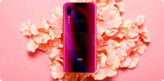 Xiaomi Redmi Y3 rojo