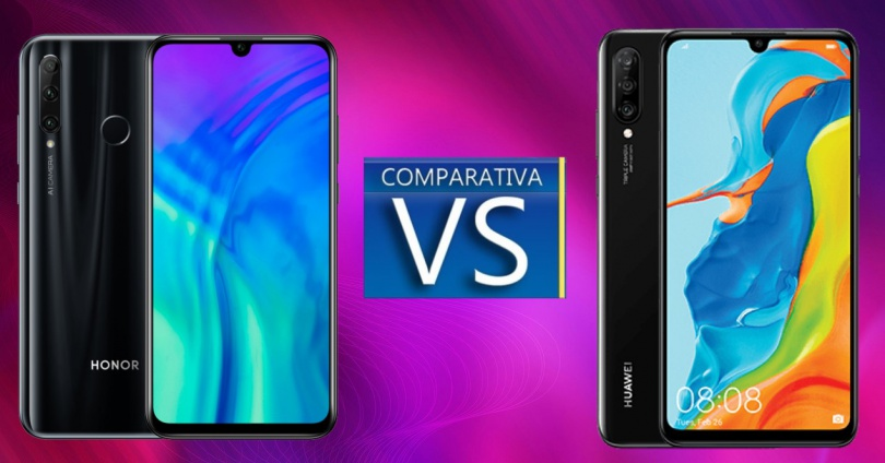 Honor 20 Lite vs Huawei P30 Lite