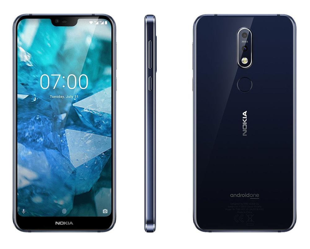 Aspecto general y diseño del Nokia 7.1
