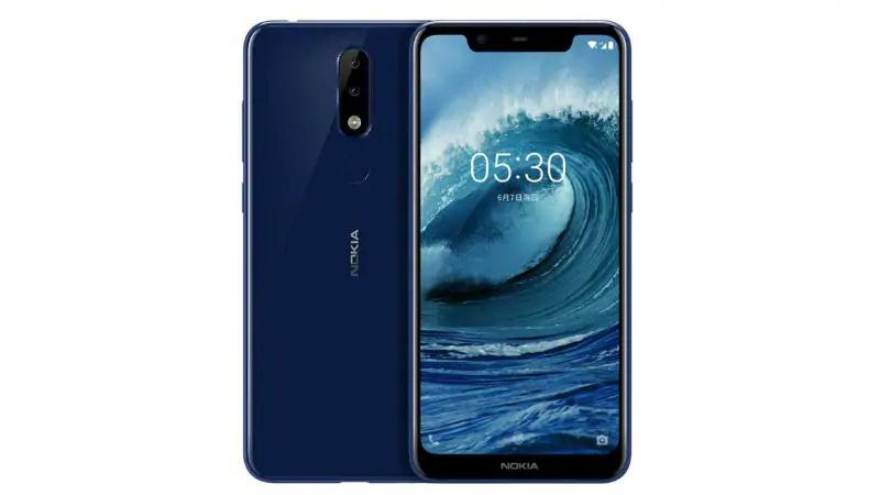 Nokia X5-Nokia 5.1 Plus-oficial