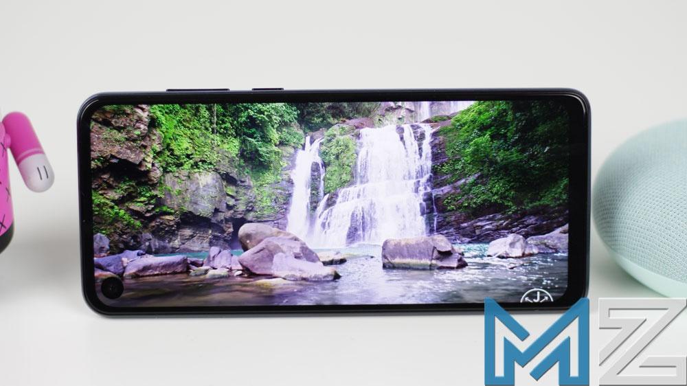 Calidad de la pantalla del Motorola One Action