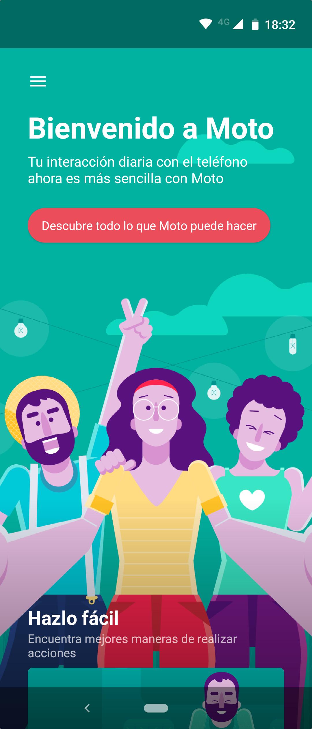 Opciones Moto Motorola One Action