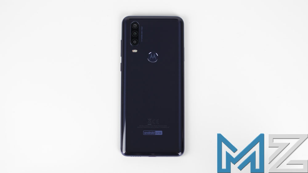 Trasera del Motorola One Action