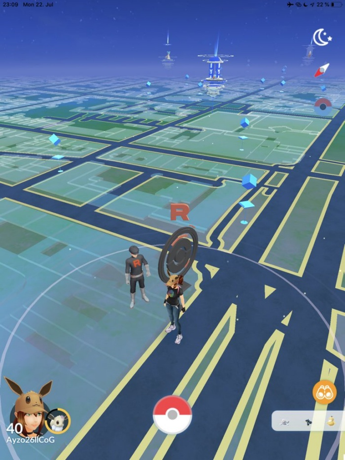 Team Go ROcket pokemon go