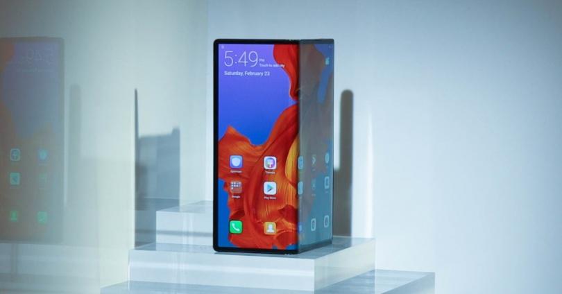 Huawei Mate X exhibido