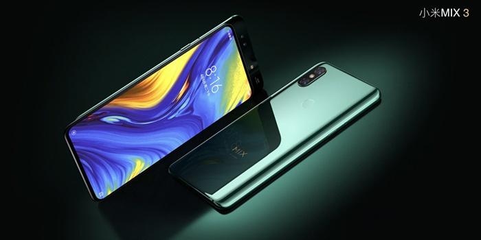 Xiaomi Mi Mix 3 5G, vista frontal y trasera
