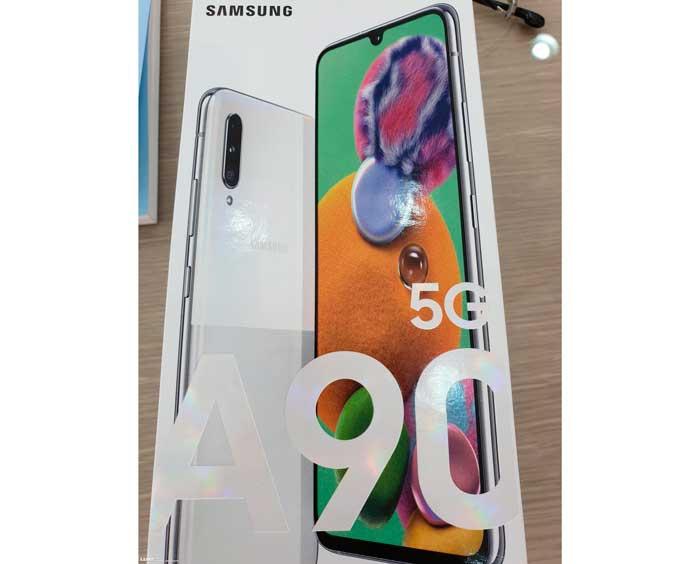 Características del Samsung Galaxy A90 5G