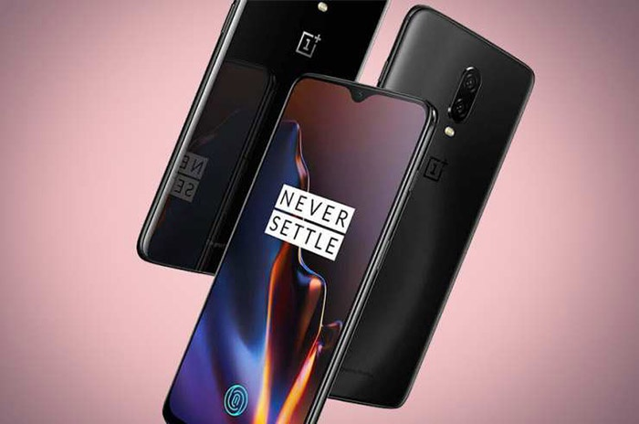 Frontal y trasera del OnePlus 6T
