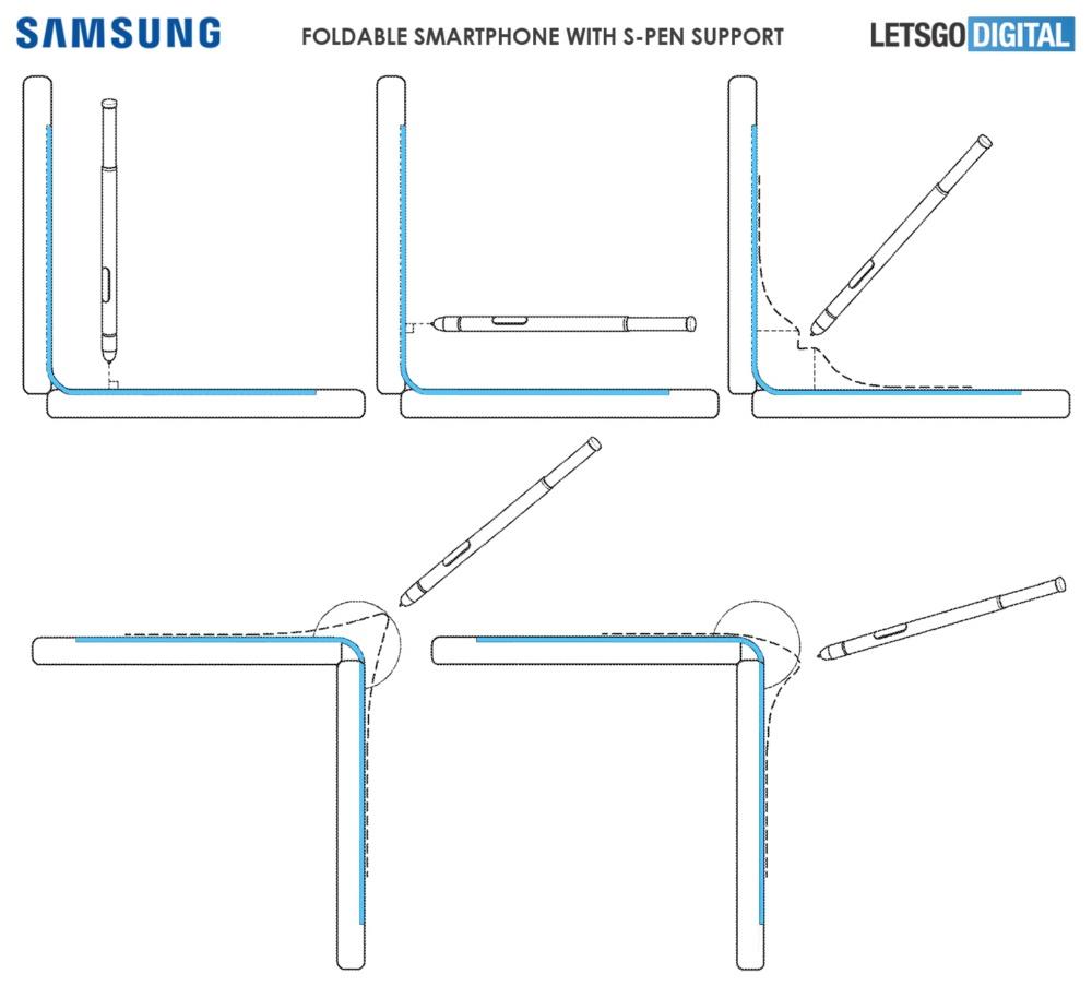 Galaxy Fold 2 patente spen