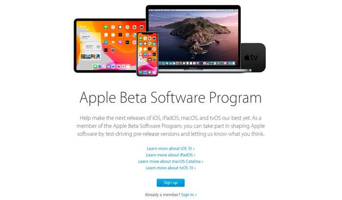 beta de iOS