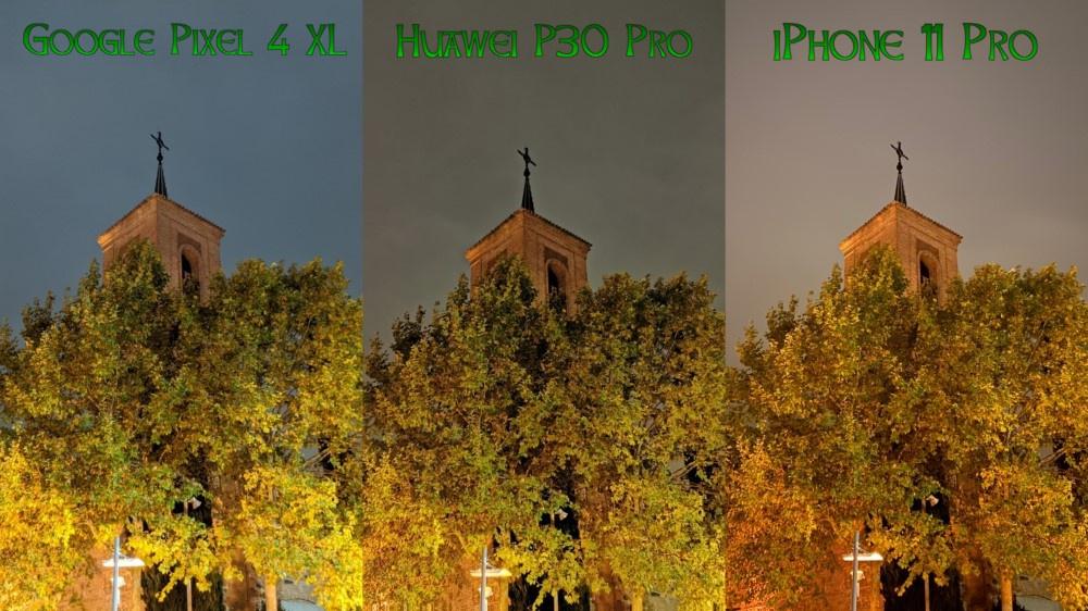 Compa Pixel 4 XL vs P30 Pro vs iPhone 11 Pro 03
