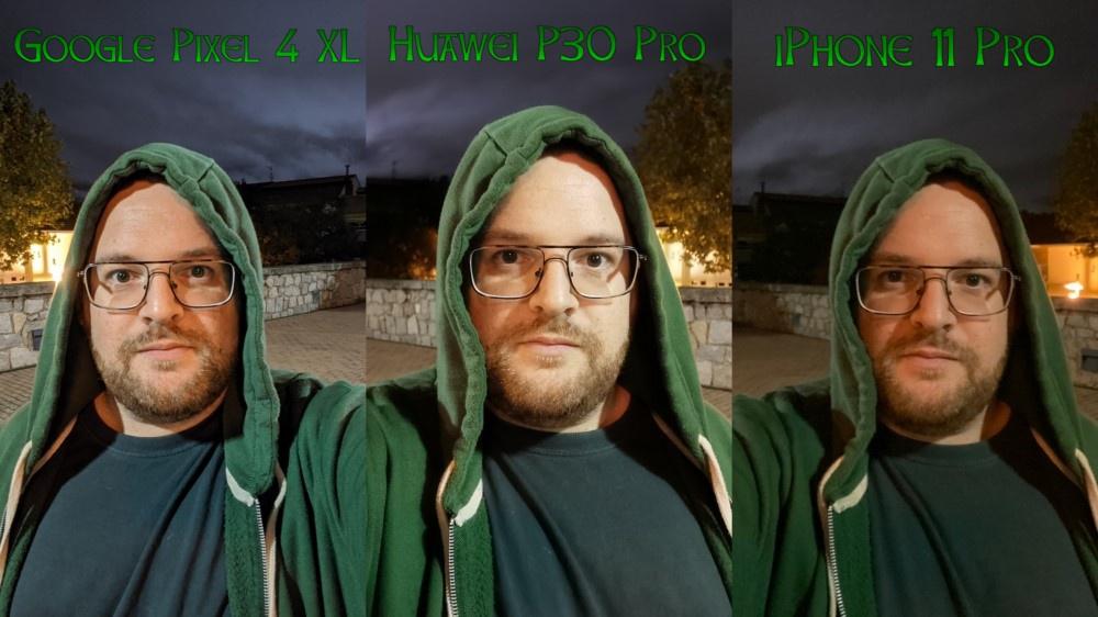Compa Pixel 4 XL vs P30 Pro vs iPhone 11 Pro