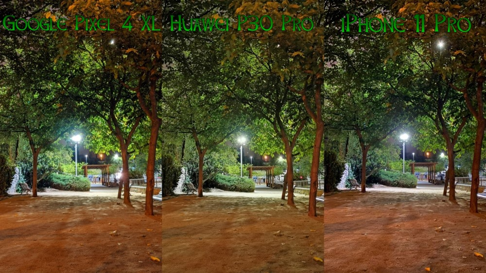 Compa Pixel 4 XL vs P30 Pro vs iPhone 11 Pro 02