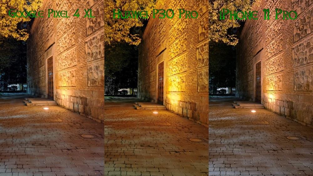 Compa Pixel 4 XL vs P30 Pro vs iPhone 11 Pro 05