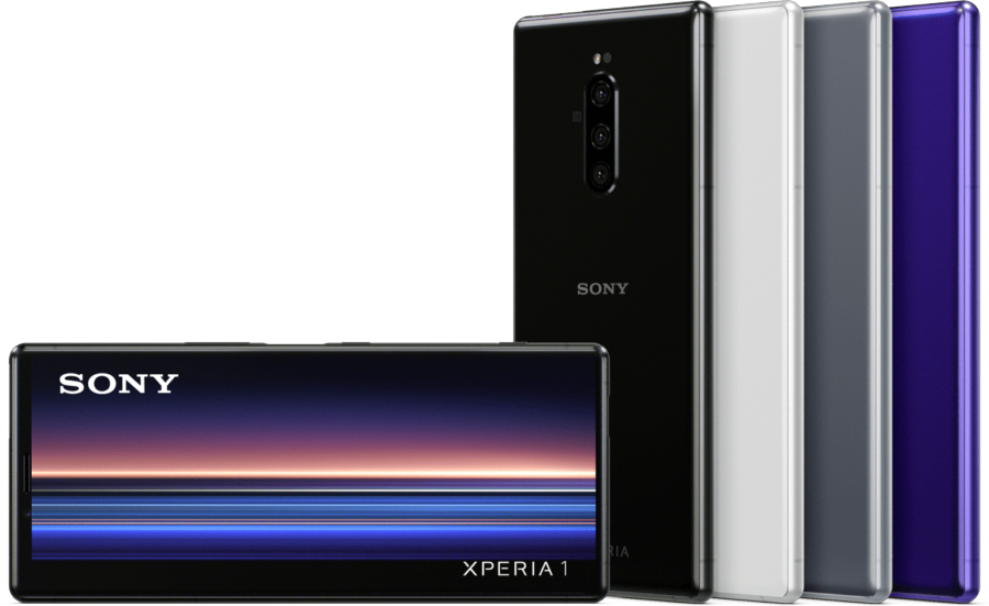 Sony Xperia 1 colores