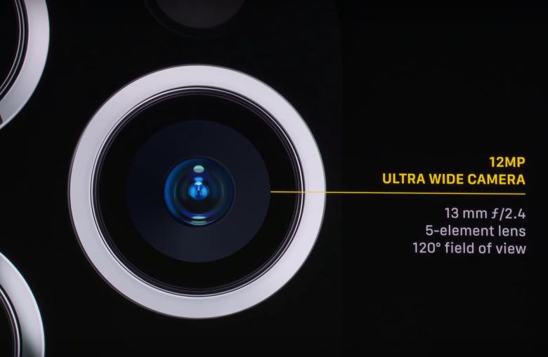 iphone cámara ultra gran angular
