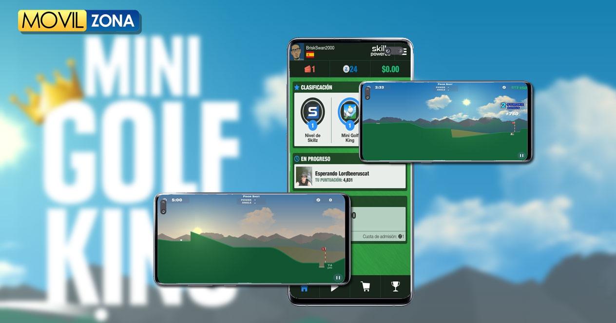 Aplicación Mini Golf King