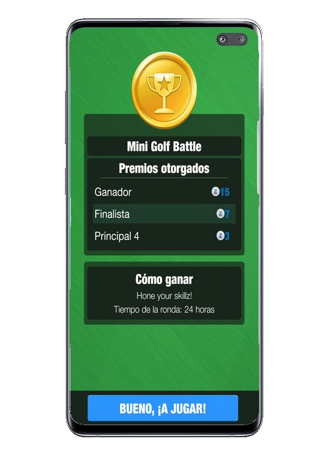 Victoria en Mini Golf King