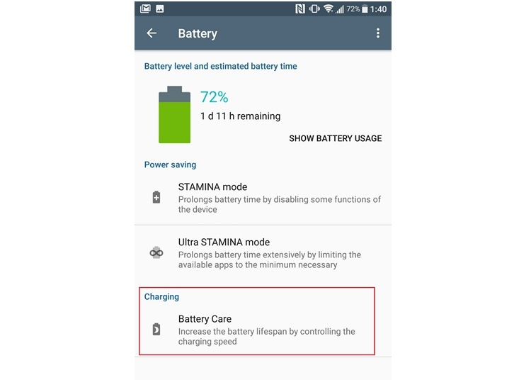 cuidado bateria sony